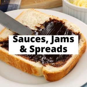 Sauces, Jams, and Spreads
