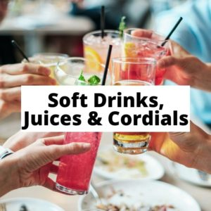 Soft Drinks, Juices and Cordials